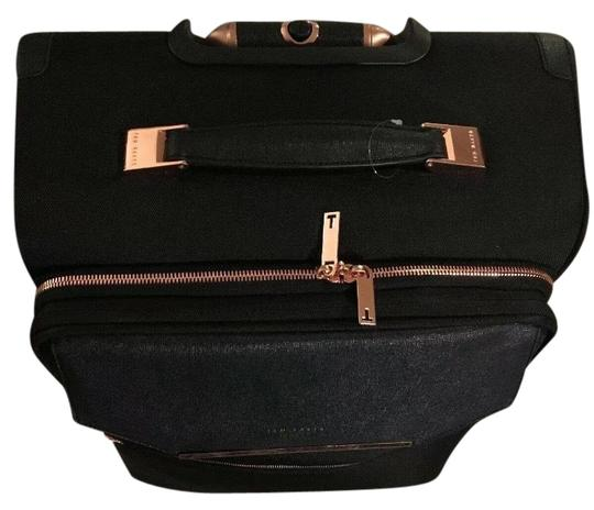 c633359cc5c5ad Ted Baker Albany Cabin Softside 4 Wheel Medium Sized Trolley Case  Weekend Travel Bag
