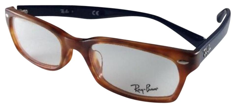 44dbd872032e Ray-Ban New RAY-BAN Eyeglasses RB 5150F 5609 Light Havana   Blue Frame ...
