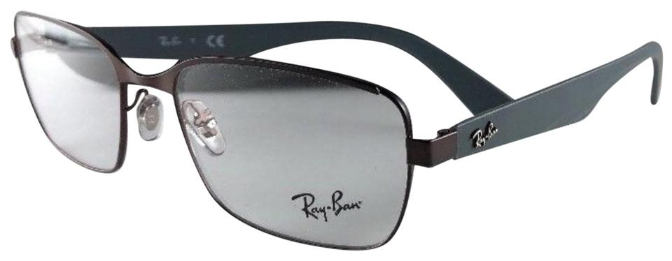 d5c4d713b0ed Ray-Ban New RAY-BAN Eyeglasses RB 6308 2826 Bronze Brown   Grey Frame ...