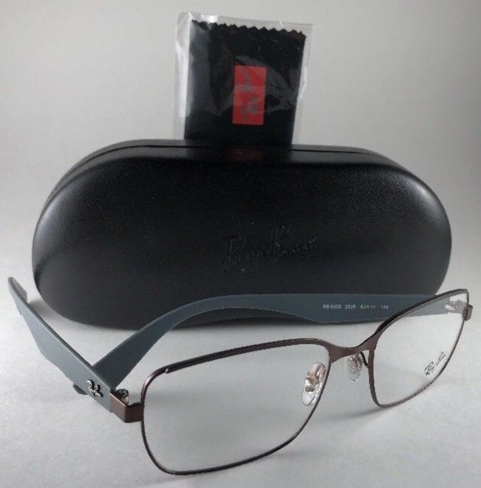 1b076e0c8d Ray-Ban New Rb 6308 2826 Bronze Brown   Grey Frame 53-17 140 14 ...