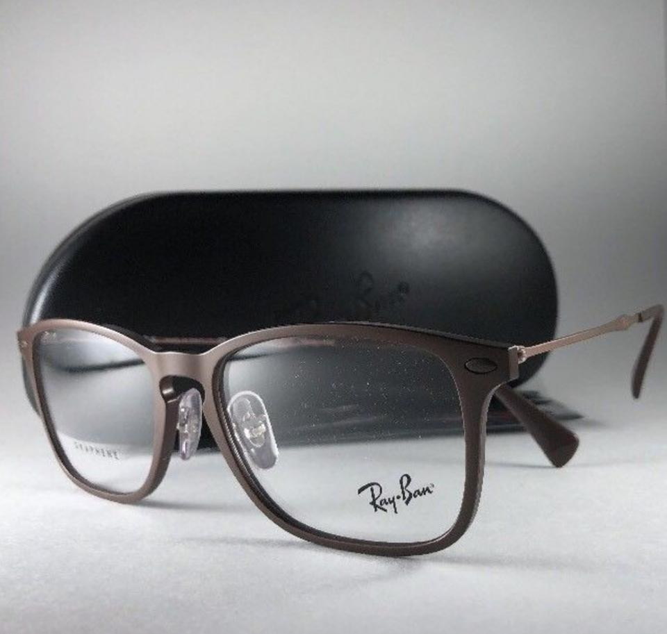 d4bf3c6f0f Ray-Ban New Rb 8953 8028 Brown Graphene Frame 54-17 140 Made In Italy  Sunglasses - Tradesy
