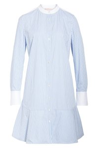 Tory Burch short dress ombre striped shirting on Tradesy