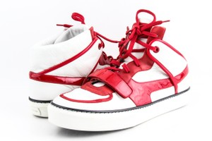 Louis Vuitton Multicolor Calfskin Patent Tower High Top Sneakers Shoes