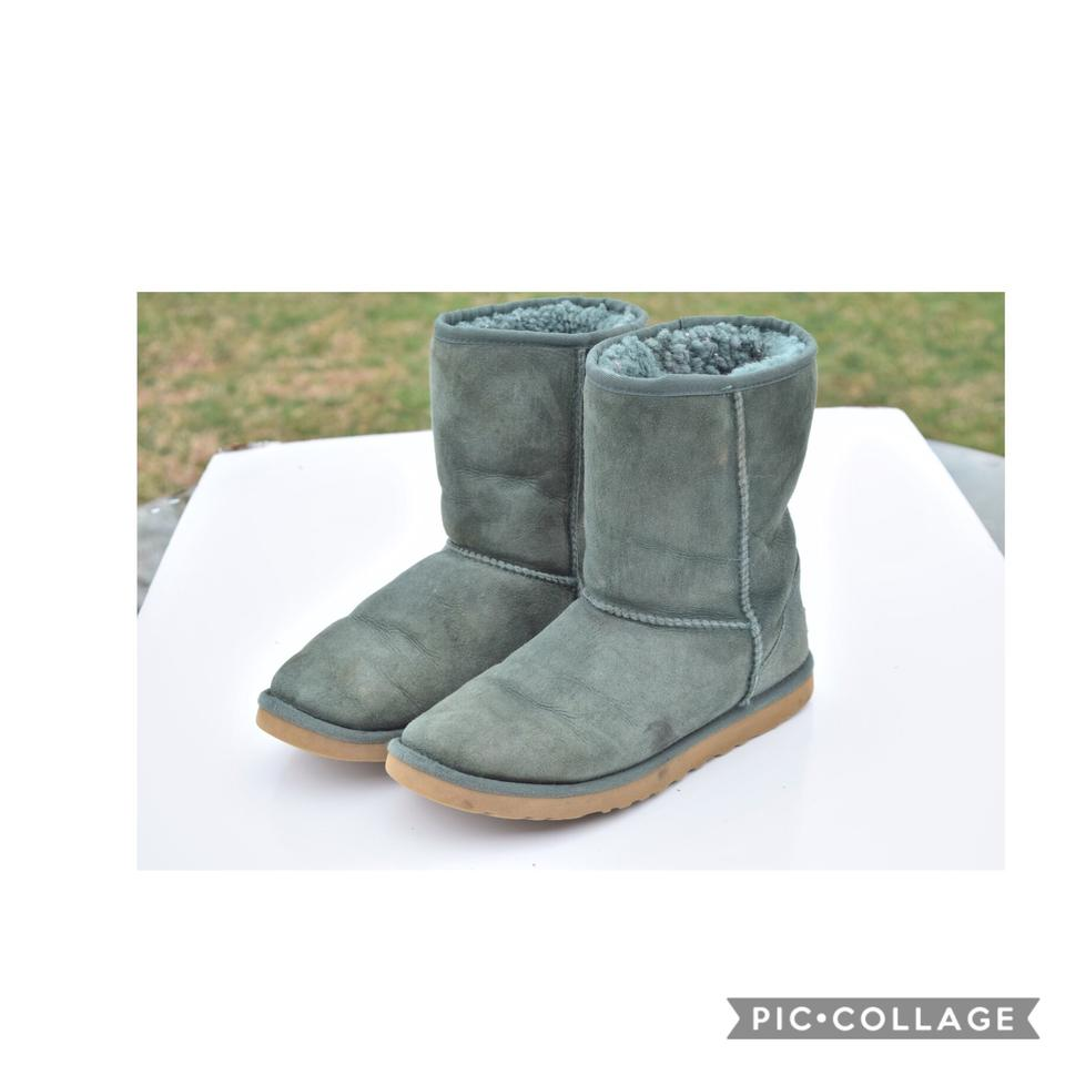 314285daaed UGG Australia Green Classic Short Boots/Booties Size US 9 Regular (M, B)