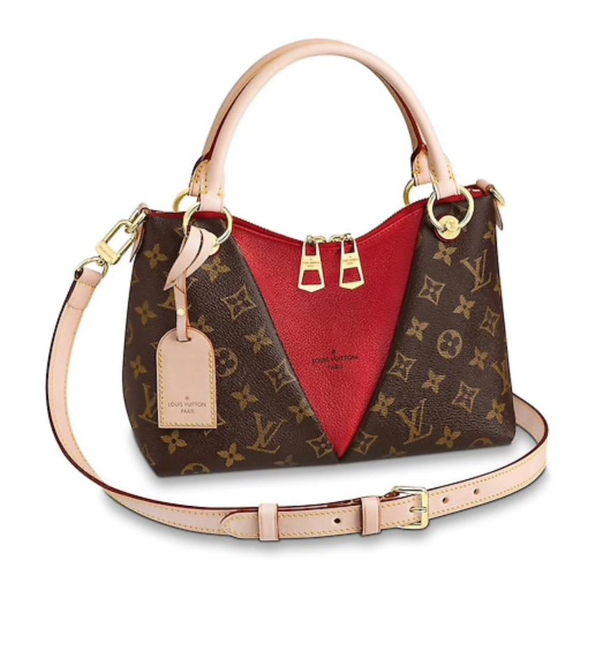 1761bec513 Louis Vuitton New 2019 Sold Out V Tote Bb Handbag Brown Canvas Cross Body  Bag 12% off retail