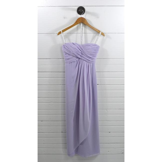 Item - Purple Polyester Strapless Evening Gown #101-52 Feminine Bridesmaid/Mob Dress Size 4 (S)