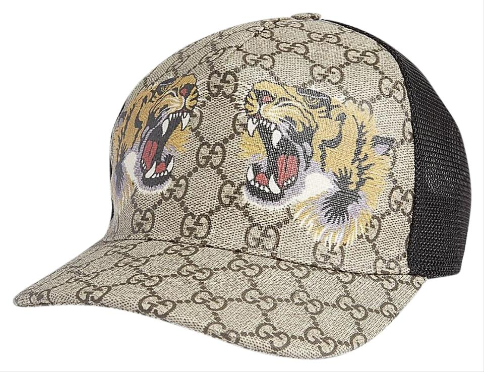 d2397056030e7 Gucci XL Tiger Baseball Cap Hat - Tradesy