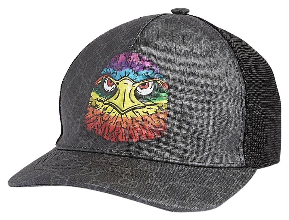 83349629ecb Gucci Eagle-appliquéd Canvas Baseball Cap M Hat - Tradesy