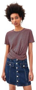 Zara T Shirt Purple