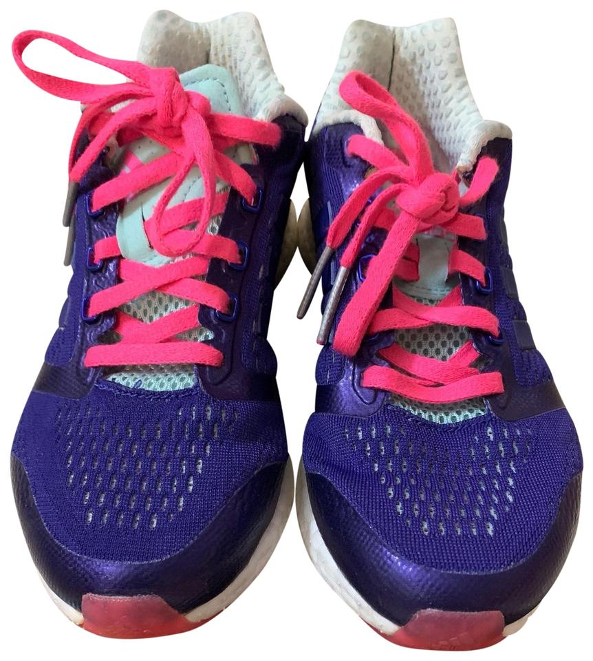 sports shoes 46af8 14b8d adidas Purple Climachill Rocket Boost Sneakers