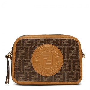 Fendi Ff Camera Logo Logo Ff Camera Shoulder Bag