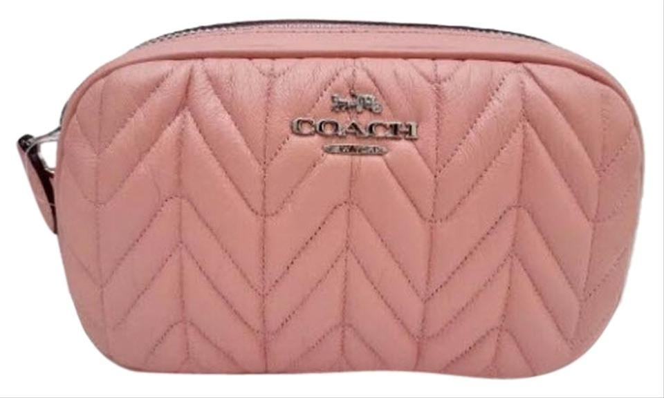 347be74728a Coach Pink Belt Bag Fanny Pack Convertible with Quilting F38678 Wallet 61%  off retail