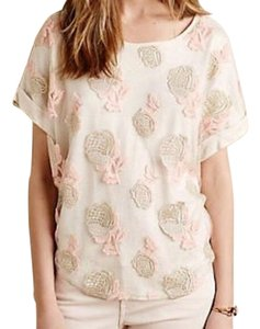 b17365db76728 Gold Anthropologie Tops - Up to 70% off a Tradesy
