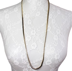 Givenchy Long Gold Tone Vintage Necklace