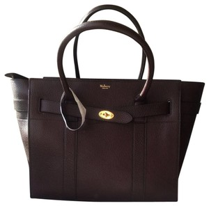 9ee3de664d82 Added to Shopping Bag. Mulberry Tote in Oxblood. Mulberry Zipped Bayswater  Oxblood Leather Tote