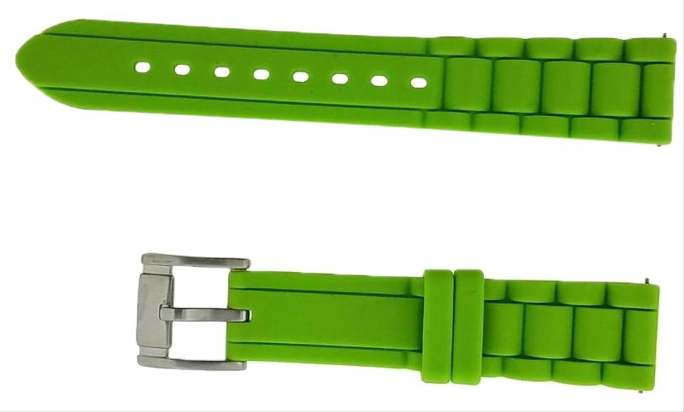 8ace74521 Fossil Lime Green S181114 Band Size 18mm Color Silicone Watch - Tradesy