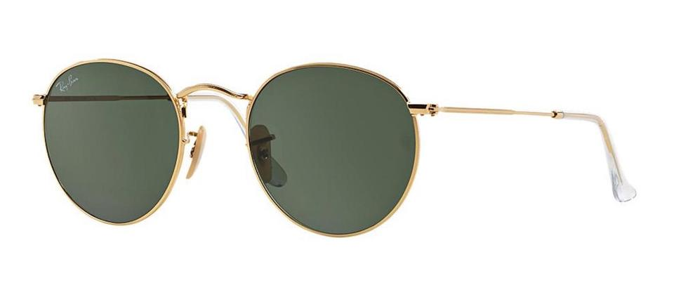 b190d875a25e7 Ray-Ban Gold Round John Lennon Rb3447 001 Free 3 Day Shipping Retro ...