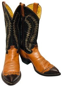 Justin Boots 2 Tone Boots