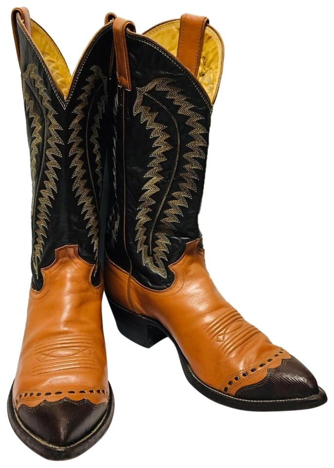 2 Tone Western Boots/Booties