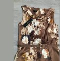 Talbots Brown Floral Belted 2p Mid-length Work/Office Dress Size Petite 2 (XS) Talbots Brown Floral Belted 2p Mid-length Work/Office Dress Size Petite 2 (XS) Image 5