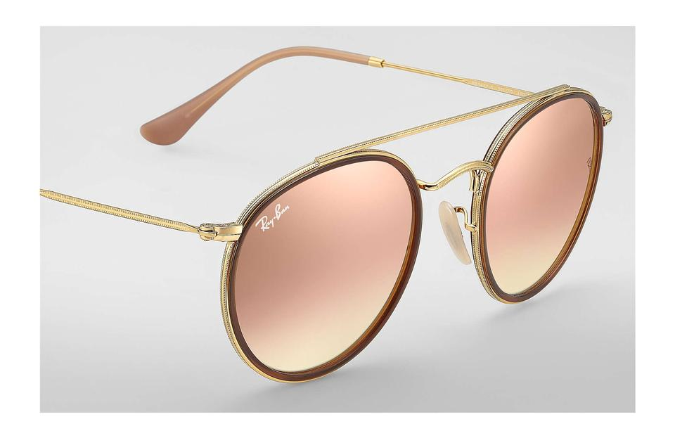 d29818ae99 Ray-Ban Rose Gold Metal Classic Sunglasses - Tradesy