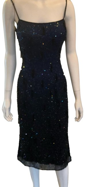 Blue Mid-length Formal Dress Size 4 (S) Blue Mid-length Formal Dress Size 4 (S) Image 1