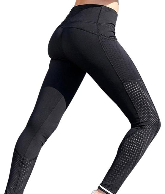 Item - Black With Pockets -- Mesh Activewear Bottoms Size 4 (S, 27)