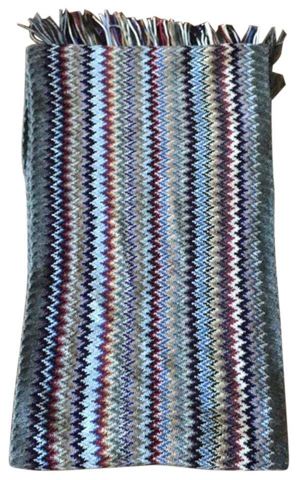 c9bac9a65b Missoni Fall Colors Multi-color Scarf Wrap - Tradesy