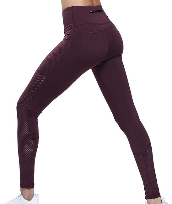 Item - Red With Pockets -- Mesh Activewear Bottoms Size 8 (M, 29, 30)