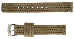 Tommy Bahama TBNSL13KHA Watch Band Size 14mm Color Tan Fabric