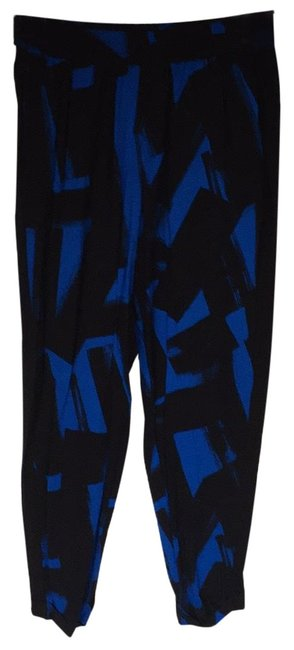 Preload https://img-static.tradesy.com/item/24941311/french-connection-blue-abstract-print-soft-with-elastic-waist-pants-size-6-s-28-0-1-650-650.jpg