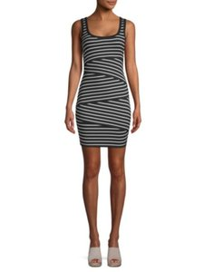 Bailey 44 short dress Black/White on Tradesy