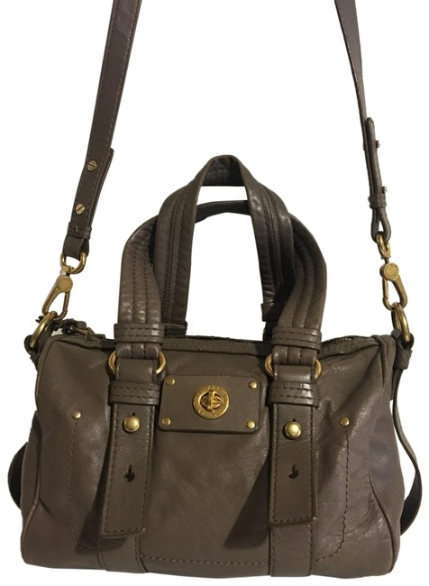 Item - By Gray Leather Satchel