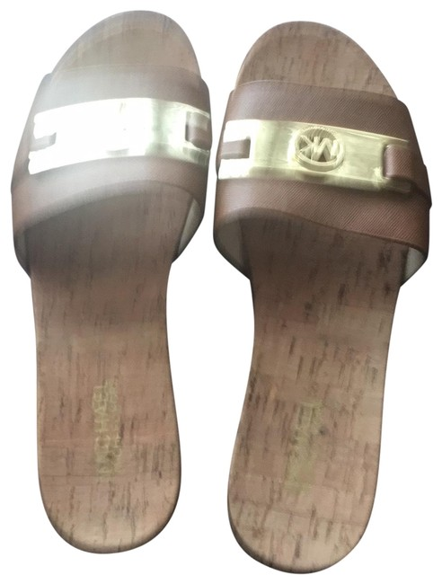 MICHAEL Michael Kors Tan Sandals Size US 9 Regular (M, B) MICHAEL Michael Kors Tan Sandals Size US 9 Regular (M, B) Image 1
