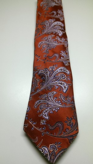 Preload https://img-static.tradesy.com/item/24941589/ike-behar-red-blue-white-men-s-creme-geo-classic-paisley-theme-bold-woven-tiebowtie-0-0-540-540.jpg