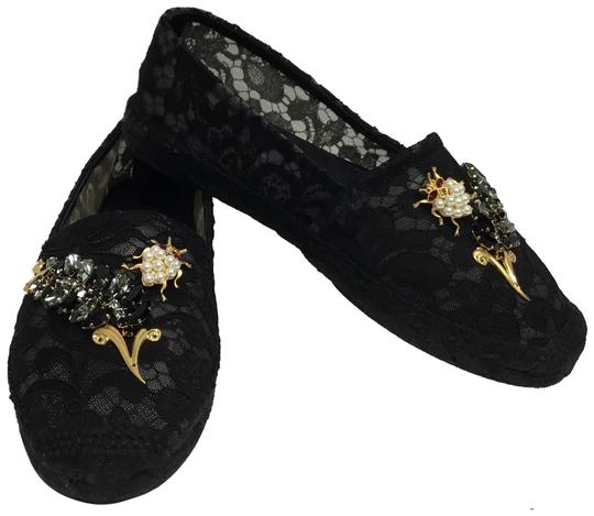 Preload https://img-static.tradesy.com/item/24941624/dolce-and-gabbana-black-embellished-lace-espadrilles-flats-size-eu-39-approx-us-9-regular-m-b-0-2-540-540.jpg