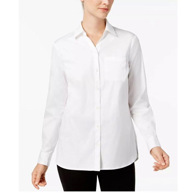 Preload https://img-static.tradesy.com/item/24941766/charter-club-bright-white-button-up-blouse-size-petite-6-s-0-0-650-650.jpg