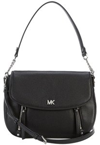 6be0525bf483 Added to Shopping Bag. Michael Kors Shoulder Bag. Michael Kors Evie Pebble  Black/Silver Leather ...
