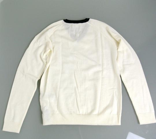 Gucci White Hysteria W Long Sleeve V-neck Wool Sweater W/Hysteria Crest 8 270699 Groomsman Gift Image 2