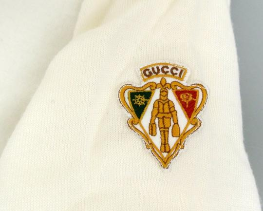 Gucci White Hysteria W Long Sleeve V-neck Wool Sweater W/Hysteria Crest 8 270699 Groomsman Gift Image 3