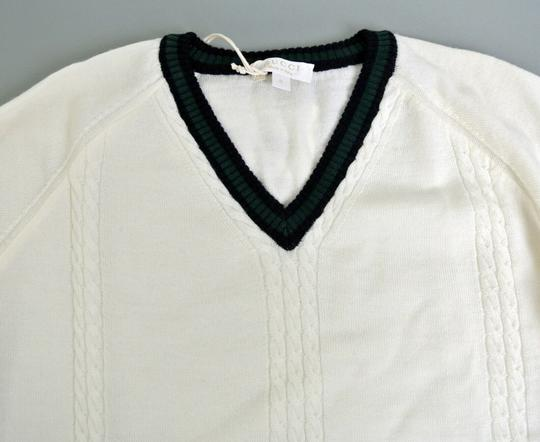 Gucci White Hysteria W Long Sleeve V-neck Wool Sweater W/Hysteria Crest 8 270699 Groomsman Gift Image 4