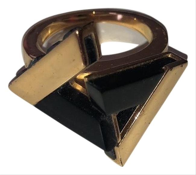Item - Black and Gold Ring