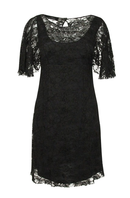 Preload https://img-static.tradesy.com/item/24942091/dolce-and-gabbana-black-lace-batwing-short-cocktail-dress-size-6-s-0-2-650-650.jpg