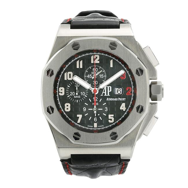 Audemars Piguet Stainless Steel with Black Dial Royal Oak Offshore Shaquille O'neal 26133st 48mm Watch Audemars Piguet Stainless Steel with Black Dial Royal Oak Offshore Shaquille O'neal 26133st 48mm Watch Image 1