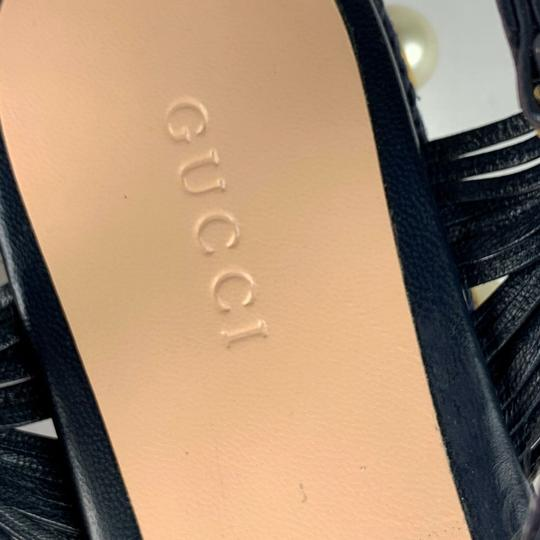 Gucci Navy Blue Sandals Image 2