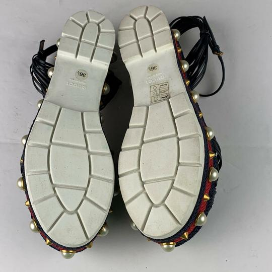 Gucci Navy Blue Sandals Image 4