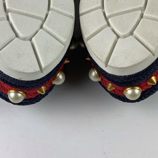 Gucci Navy Blue Sandals Image 5