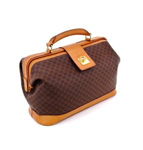 749e909596e0 Céline 2-way Doctor Italy Vintage Monogram Brown Travel Bag