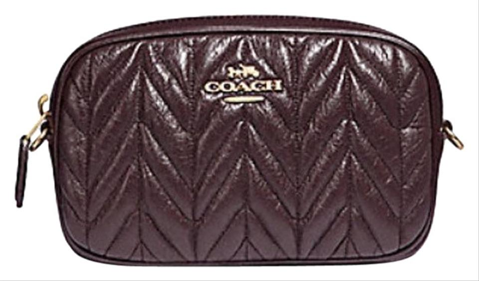 b7b3cd310021 Coach COACH Fanny pack CONVERTIBLE BELT BAG WITH QUILTING F38678 Image 0 ...