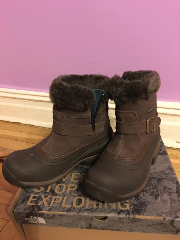 The North Face Brown Chilkat Iii Pull On BootsBooties Size US 7 Regular (M, B)